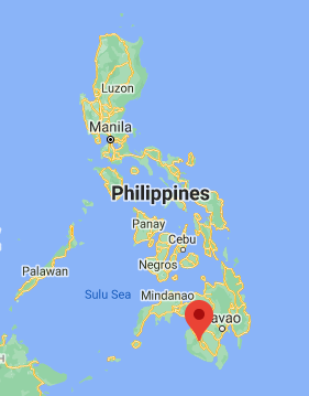 The city of Esperanza in the southern Philippines (Google Maps)