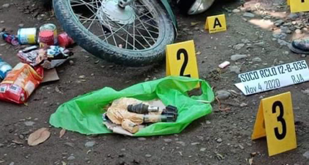 Mortar shell and other equipment located in the possession of the commander killed by Philippine security forces in the south of the country (Benar News, a news website operating in Southeast Asia, November 5, 2020).