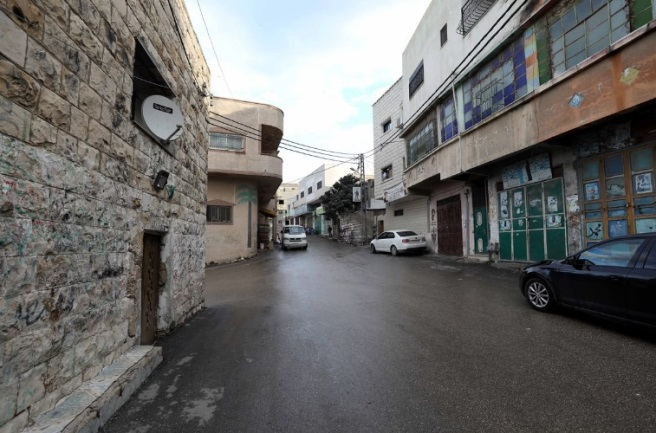 The full lockdown of the village of Tel in the Nablus district after 50 active cases were detected (Wafa, November 15, 2020)