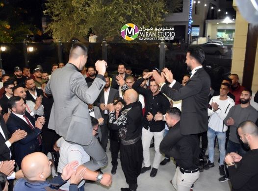 A wedding in Kafr 'Aqab, an epicenter of east Jerusalem Covid-19 infection (Miran Studio Facebook page, November 14, 2020). About 40,000 Kafr 'Aqab residents work in the west Jerusalem neighborhoods. Most of them enter and exit every day through the Qalqilya Crossing.