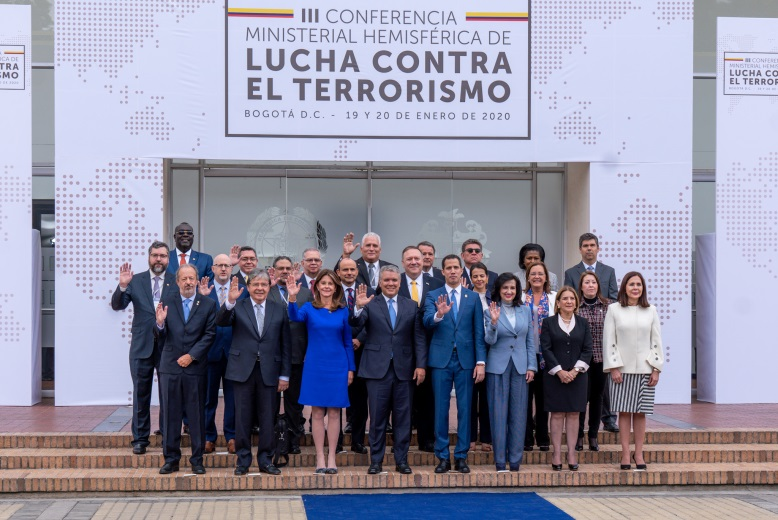 The declaration of all of Hezbollah as a terrorist organization by Colombia and Honduras at a conference in Bogota (US Secretary of State Mike Pompeo's Twitter account, January 20, 2020)
