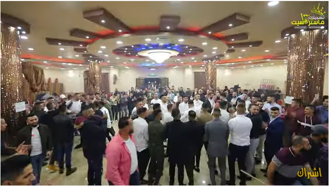 A wedding in al-E'izaria (Facebook page and YouTube channel of Master Cassette, November 17 and 18, 2020).