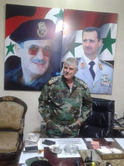 Brigadier General Bashir [Salim] Ismail, commander of the 137th Brigade in the Syrian army, who was killed by ISIS (Deir ez-Zor 24 Twitter account, November 18, 2020; @musabalmjbel Twitter account, November 18, 2020)