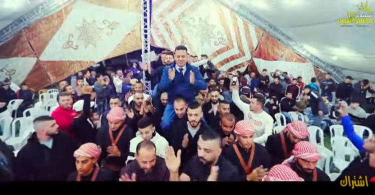 Wedding in east Jerusalem this past weekend, when there was a full lockdown in Judea and Samaria (YouTube channel of Master Cassette, November 29, 2020).
