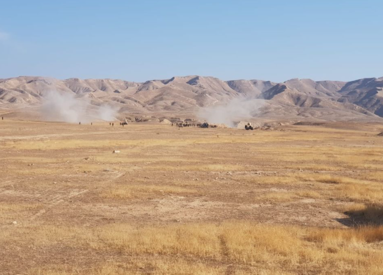 Iraqi army forces during searches in Makhoul Mountains (Facebook page of the Iraqi Defense Ministry, December 3, 2020). the of the Iraqi army