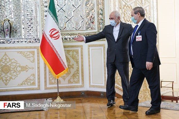 The meeting of the Syrian and Iranian ministers of foreign affairs (Fars, December 7, 2020)