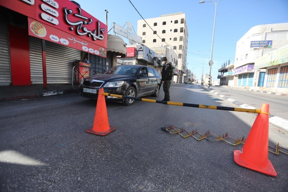 The seven-day general lockdown in the Hebron district (Wafa, December 11, 2020).