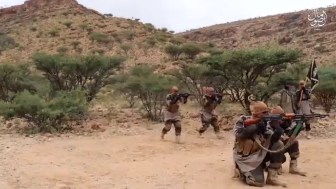 Training of ISIS's Somalia Province operatives (Telegram, December 15, 2020)