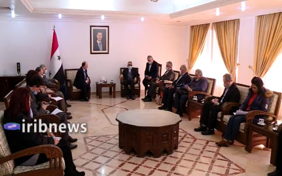 The visit of the scientific-education delegation in Damascus (IribNews, December 22, 2020)