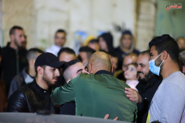Reception for a released prisoner from Jenin (Facebook page of Studio New Action, December 213, 2020).