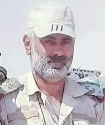 Brigadier General Mazen Ali Hassoun killed in the clashes with ISIS (ALBADIA24@24 Twitter account, December 27, 2020)