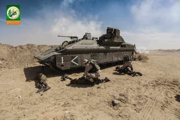 """Simulating the abduction of """"IDF soldiers"""" from a tank."""