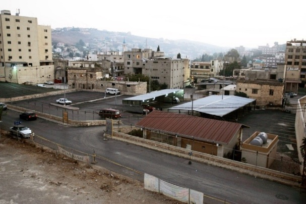Projects planned by Arch Consulting for the Nabatieh municipality. Left: Plan of the Nabatieh Park. Right: Nabatieh parking lot (Arch Consulting website)