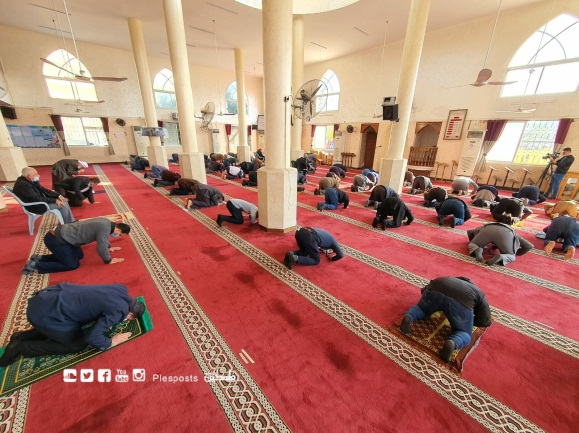 The mosques reopen in Gaza