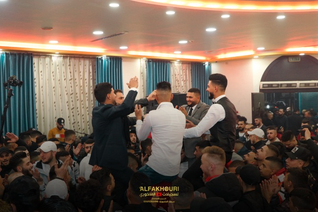 A wedding in Kafr 'Aqab (al-Fakhouri Recordings Facebook page, January 23, 2021)