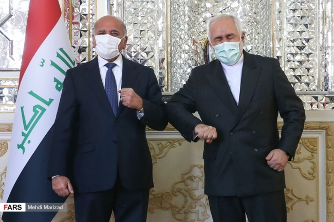 The meeting of the foreign ministers in Tehran (Fars, February 3, 2020).