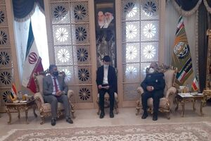 The meeting between the head of the Coordination Department at the General Command of the Iranian Armed Forces and the senior adviser to the Iraqi minister of interior (Mashregh News, March 1, 2021)