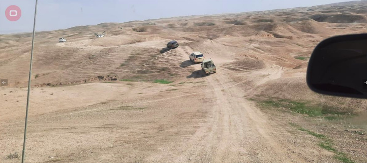 The Iraqi security forces operating in the region southwest of Kirkuk (Al-Sumaria, March 3, 2021)