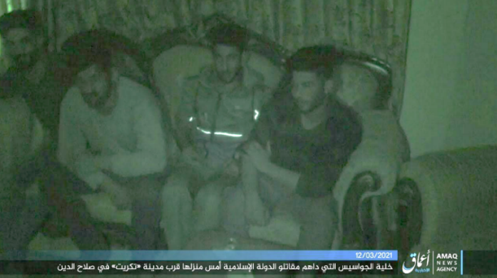 The family members executed by ISIS.