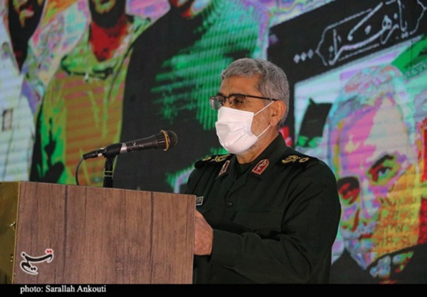The commander of the IRGC's Qods Force (Tasnim, March 12, 2021)