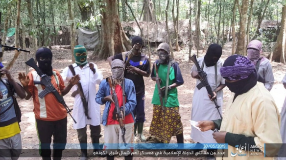 ISIS's operatives in the Democratic Republic of the Congo (Telegram, July 24, May 30, 2019)