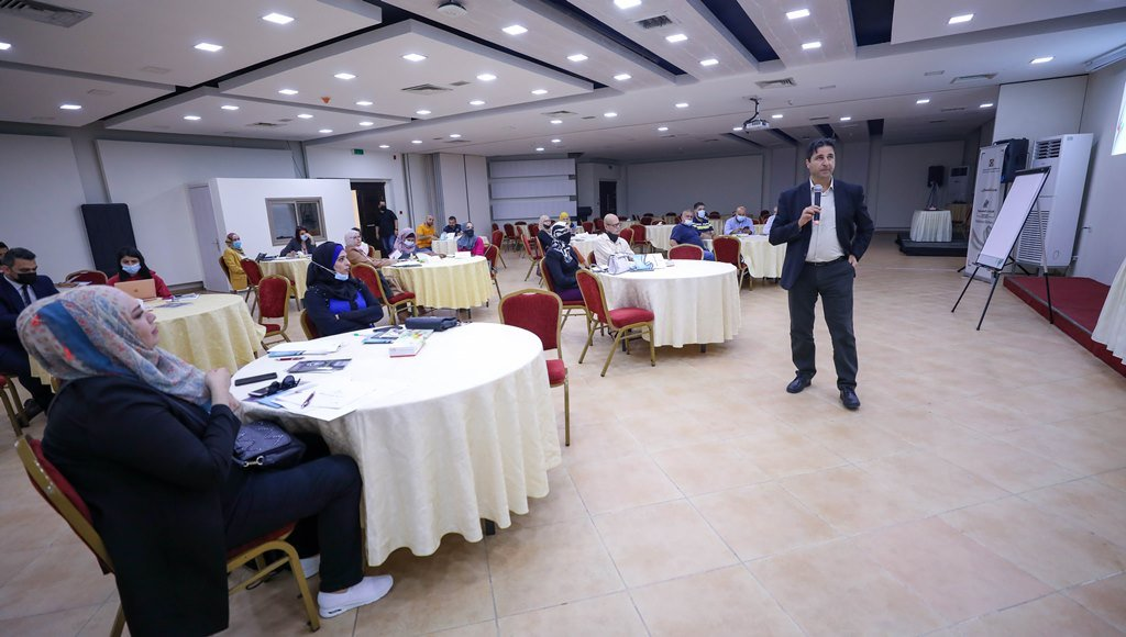 The Palestinian Central Elections Committee trains local election observers (al-Hayat al-Jadeeda, April 18, 2021).