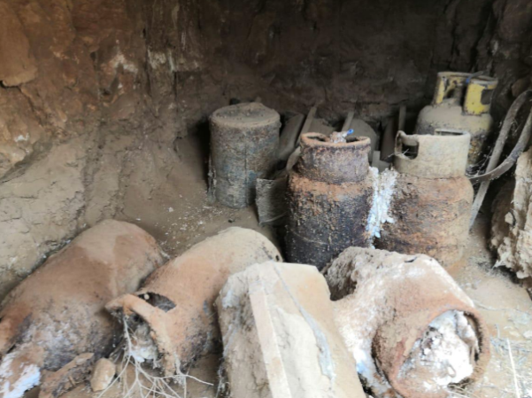 IEDs found in one of ISIS's guesthouses which was destroyed (Al-Sumaria, April 25, 2021)