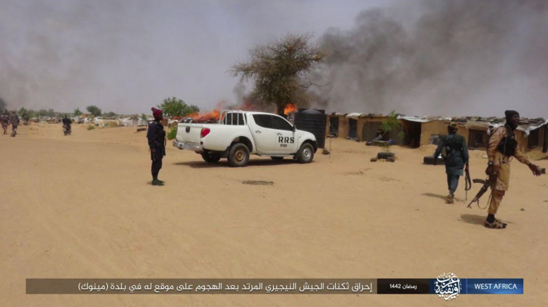 ISIS's operatives attacking in Mainok.
