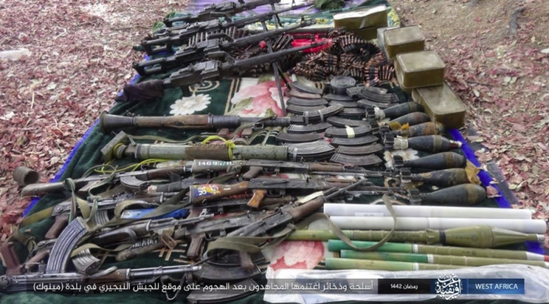 Weapons seized by ISIS.