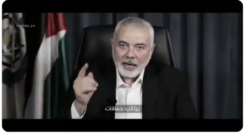 Pictures from the Hamas incitement video (PALINFO's Twitter account, May 8, 2021)