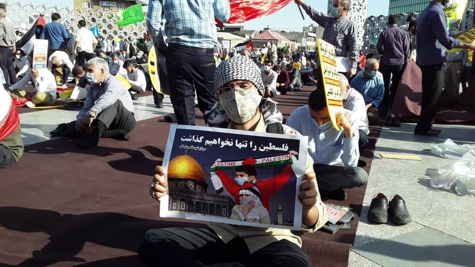 Rally in support for Palestine in Tehran. (ISNA, May 19)