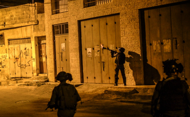Border Police fighters in Abu Dis (Israel Police Force spokesman's unit, June 8, 2021).