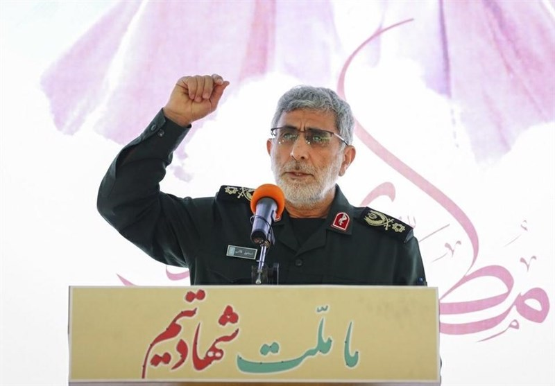 The commander of the IRGC's Qods Force. (Tasnim, May 29)