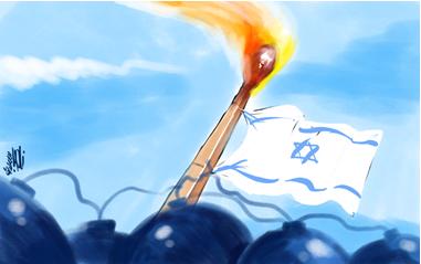 The flag march is a match that could lead to an explosion (al-Quds, June 15, 2021).