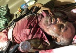The body of a senior ISIS operative in Sinai (sinainewsnow Facebook page, June 14, 2021).