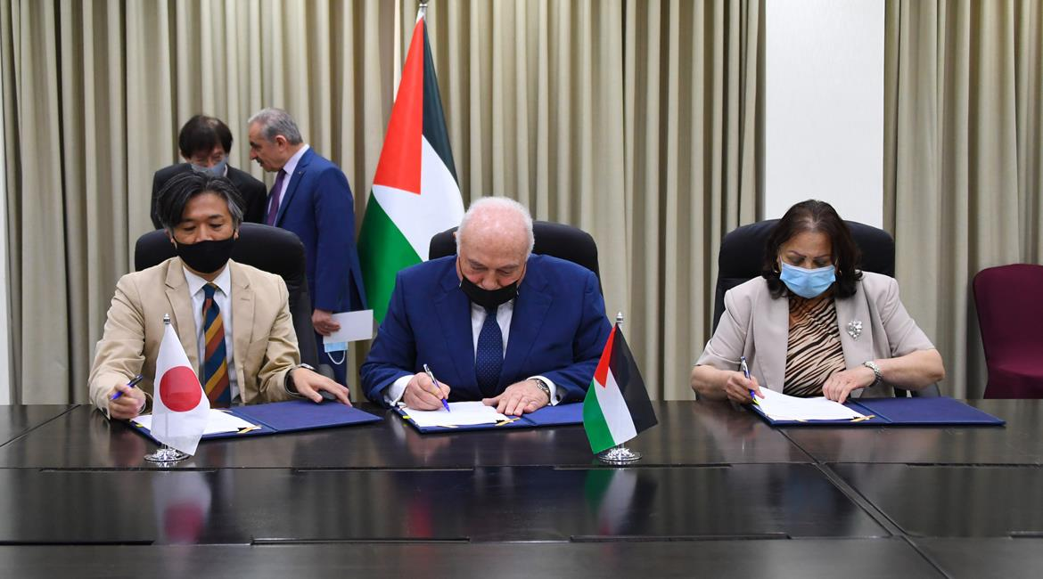 Agreement signed for Japanese assistance for the Palestinian ministry of health (Wafa, June 30, 2021).