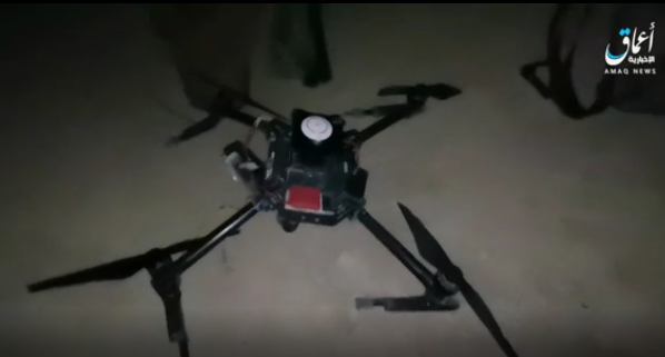 The drone allegedly downed by ISIS (Telegram, July 14, 2021)