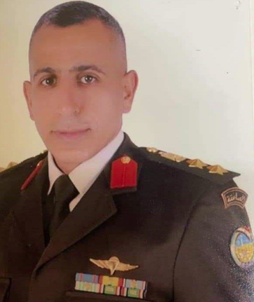 The Egyptian officer who was killed (Telegram, August 9, 2021)