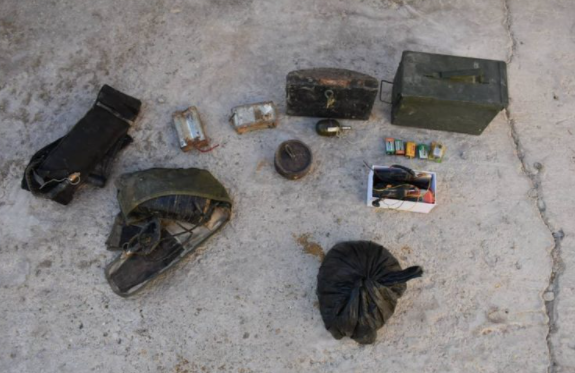 IEDs and equipment found in their possession (SDF Press, August 17, 2021)