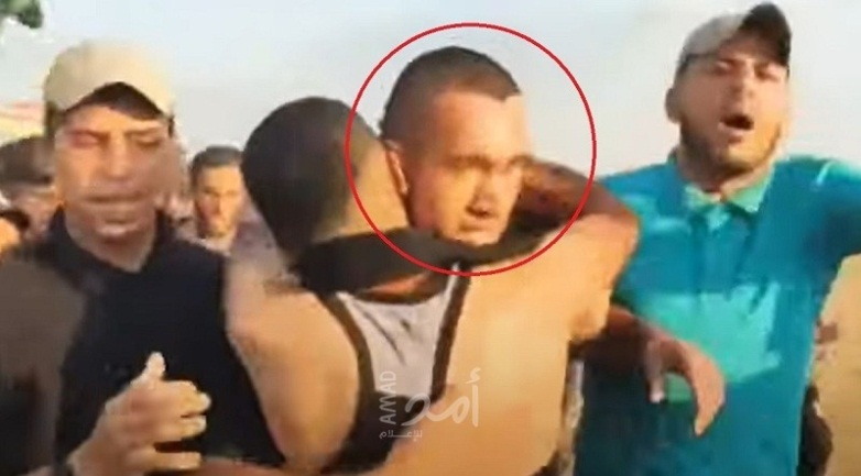 The Palestinian operative who shot the Border Police fighter congratulated