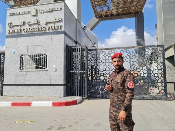 The Rafah Crossing: closed (Twitter account of journalist Hassan Aslih, August 23, 2021).