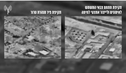 Sites attacked by the IDF (IDF spokesman, August 29, 2021).