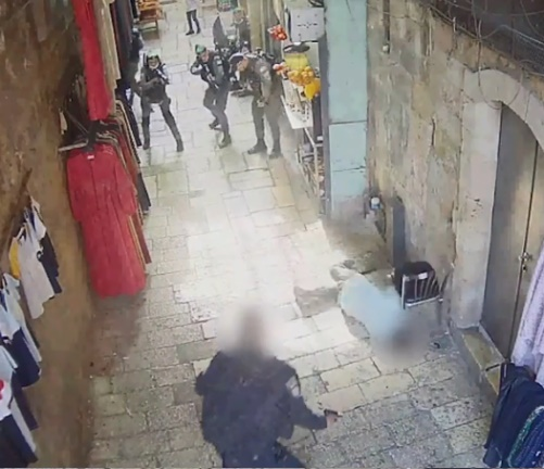 The terrorist is shot and killed (Israel Police Force spokesman's unit, September 11, 2021).