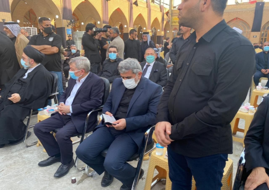 The commander of the Qods Force in Najaf. Source: Fars, September 5