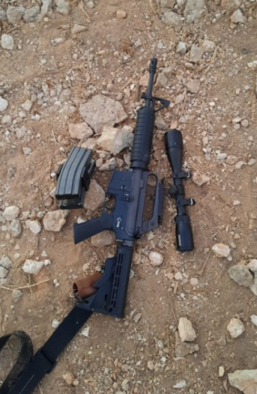 Confiscated weapons (IDF spokesman, September 26, 2021).