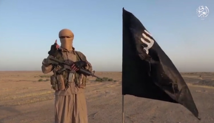 ISIS operatives in the video (Telegram, October 5, 2021)
