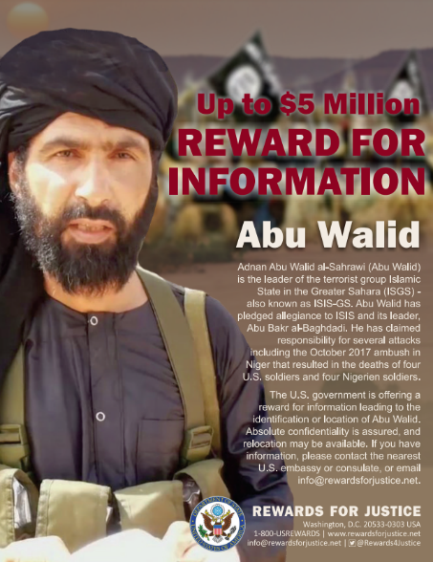 Al-Sahrawi, who was wanted by the United States (US Department of the Treasury website, May 16, 2018)